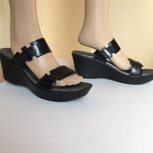 Naot Footwear  Madras / Patent Leather Sandals